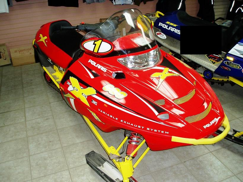 2001 Polaris X-Edge Classified Ad - Appleton Snowmobiles For Sale