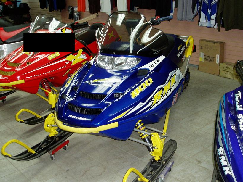 polaris 800 snowmobiles